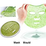 Facial Mask Maker - DIY Silicone Face Mask Maker Mould Plate, Reusable Making Facemask Tool Face Mask Facial Care Make up Tool, 2Pcs