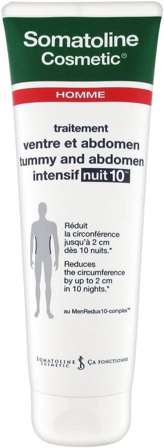 Intensivo Noche 10Somatoline Cosmetic hombre tratamiento vientre y Abdominal 250ml