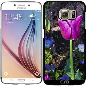 Funda para Samsung Galaxy S6 (SM-G920) - Tulipanes De Color Púrpura by loki1982