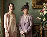 Maggie Smith & Michelle Dockery 2010-2015 Television Series, 'Downton Abbey' Lady Mary and Violet Crawley 8x10 Silver Halide Archival Quality Reproduction Photo Print