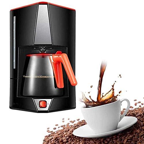 Máquina de café, 15 Copas de filtro Cafetera Con Cafetera, filtro de café de la máquina de un toque, anti-goteo de…