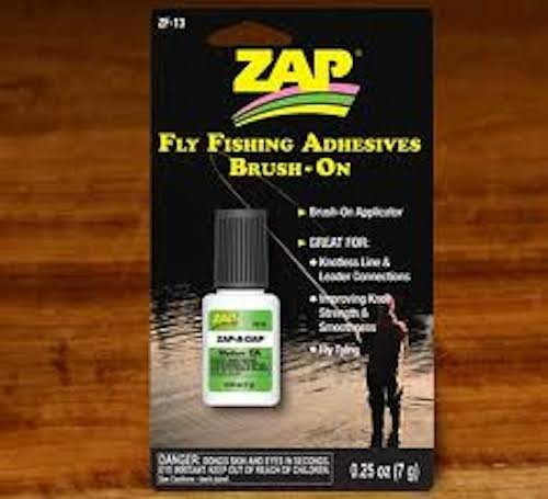 Zap a gap brush on - Medium CA - Fly Tying - Fly Fishing (Best Glue For Fly Tying)