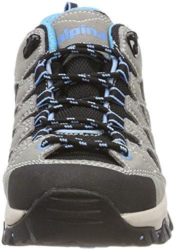 Femme 680402 Randonnée Chaussures de Bleu Basses Gris Alpina aXvTOZZ