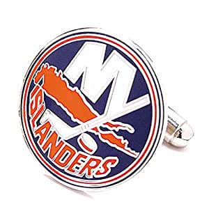 Cufflinks New York Islanders NHL Logo'd Executive Cufflinks with Jewelry Box