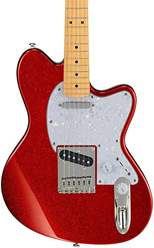 Electric Red Sparkle Guitar (Ibanez Talman Series TM302PM Electric Guitar Red Sparkle)