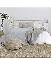U'Artlines Katoenen tapijten met kwastjes bedrukt handgeweven wasbare tapijt/mat entree voor slaapkamer, keuken, wasruimte