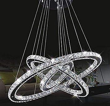 ZYY * Lámparas de Techo Lámparas de Techo Tenlion Crystal ...