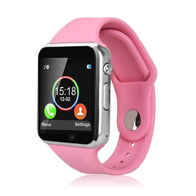 Smart Watch, Sazooy Touchscreen Bluetooth Smart Wrist Watch Smartwatch Phone Fitness Tracker with SIM SD