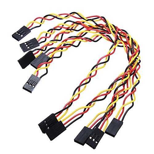 20 X 5Pcs 3 Pin 20cm Jumper Wire Cables DuPont Line For Arduino by SPS_IN