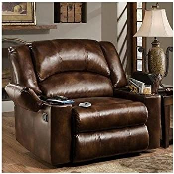 Simmons Brown Leather Over Sized Massage Reclining Chair These Recliner Chairs Are Ideal for the Big & Amazon.com: Simmons Brown Leather Over Sized Massage Reclining ... islam-shia.org