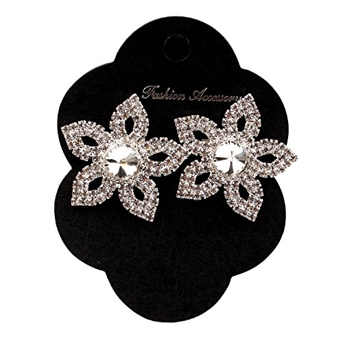 Together&117 Occasions Rhinestone Shoe Buckles, 1 Pair