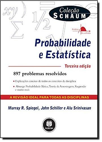 Probabilidade e Estatística - Coleção Schaum