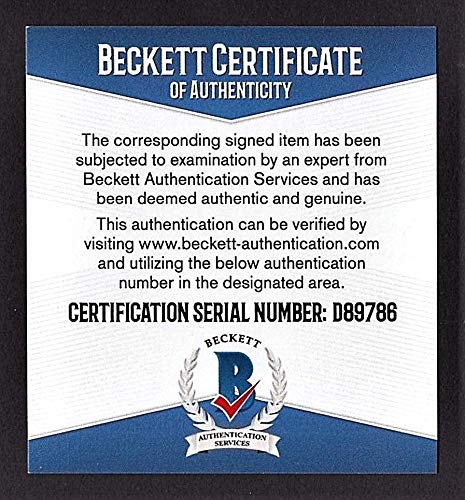 Stan Musial Autographed Signed Check Stan The Man Inc. Beckett Coa