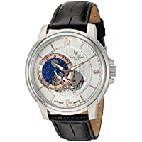 Lucien Piccard Men's LP-15156-02S-RA Nebula Analog Display Automatic Self Wind Black Watch