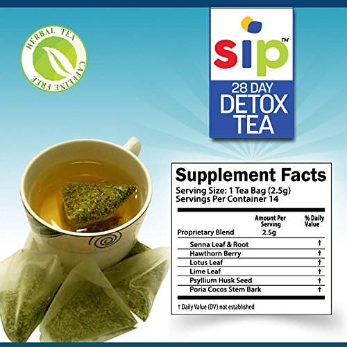 28 Day Detox Tea By Sip 1 Best Detox Cleanse To Jump