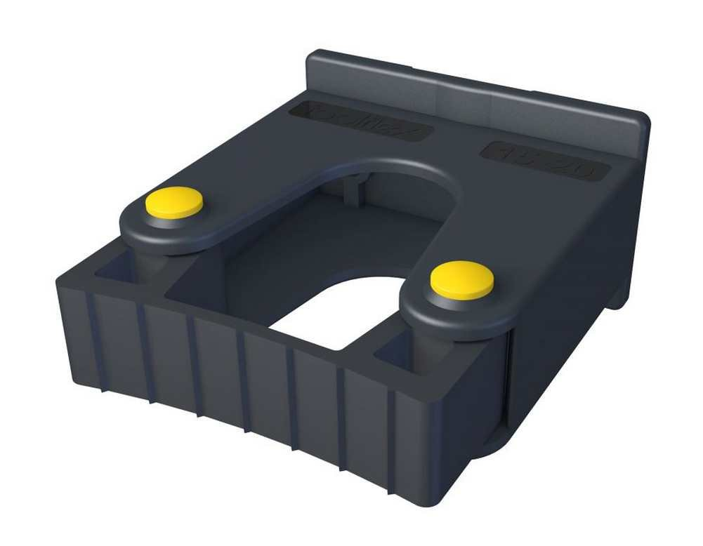 Toolflex Small Tool Holder 15-20mm 2-Pack, Screws into Wall or Rail 473-502-1