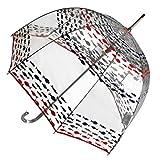 totes Signature Bubble Umbrella - Manual Open, One Size - Fish