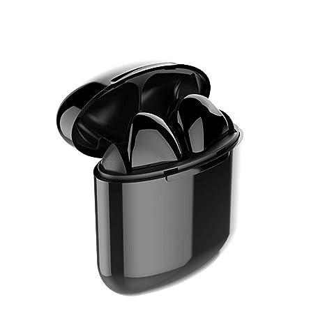 LMtt Auriculares inalámbricos Bluetooth I9X Modelo inalámbrico Bluetooth Auricular Sonido Mejorada y Auriculares de Vida de