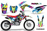 AMR Racing Graphics Kit for MX Honda CRF125F 2014-2018 FLASHBACK