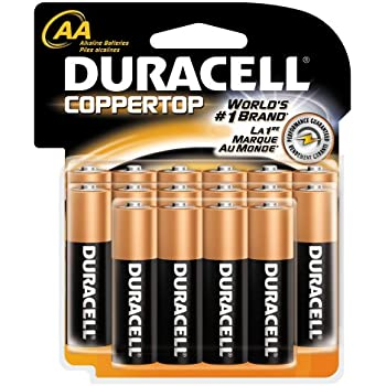 Amazon.com: Duracell Batteries, AA Size, 16-Count Packages