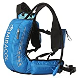 MIRACOL Hydration Vest Backpack with 2L BPA Free Bladder Keeps Liquid Cool Up to 4 Hours Lightweight Pack for Running Hiking Camping Cycling