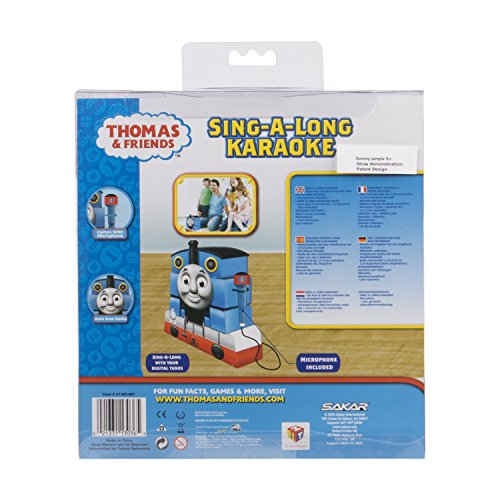 Hello Kitty/Thomas and Friends Sing-a-Long Karaoke - Red (21009)-Styles May Vary