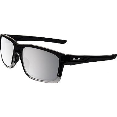 Oakley Mainlink, Gafas de sol, Rectangulares, Polarizadas, 57, Gris