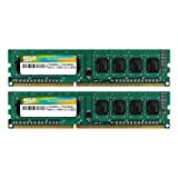 Silicon Power 16GB (2 x 8GB) DDR3 1600MHz (PC3 12800) 240-pin CL11 1.35V Unbuffered UDIMM Desktop Memory Module - Low Voltage and Power Saving
