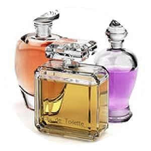alfombrilla de ratón botellas de cristal de perfume aislados - ronda - 20cm