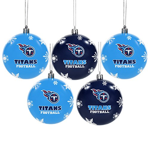 5 Pack Shatterproof Ornament Set