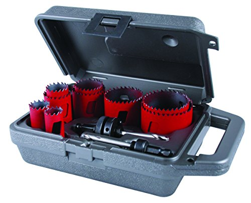 MK Morse MHS100 Bi-Metal Hole Saw Maintenance Kit, -