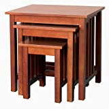 DonnieAnnie Company Hollydale Nesting Tables, Set of 3