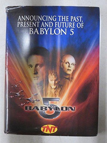 Babylon 5 Season 5 Press Kit 2 B&W Stills 40 Slides J.Michael Straczinsky's Epic