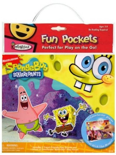 Spongebob Squarepants Fun Pocket - Colorforms SpongeBob SquarePants Fun Pocket
