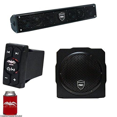 Wet Sounds Stealth 6 Surge Sound Bar w/WW-BTRS Bluetooth Roc
