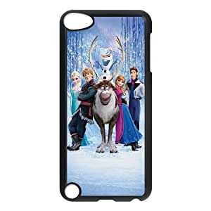C-EUR Customized Print Frozen Pattern Hard Case for iPod Touch 5