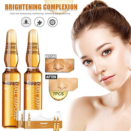 VeliHome Whitening Essence, Whitening Spotless Ampoule Moisturizing Nourishing Essence Lighten Melanin Brightening Skin