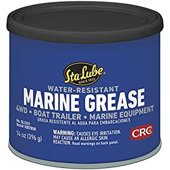 Sta-Lube SL3121 14 Ounce Marine Boat Trailer and 4 X 4 Wheel Bearing Grease