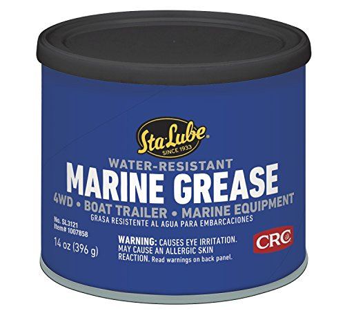 - Sta-Lube SL3121 Marine Boat Trailer and 4 X 4 Wheel Bearing Grease, 14. Fluid_Ounces