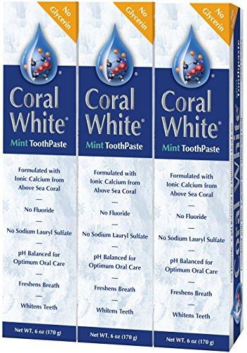 Top 10 coral white mint toothpaste