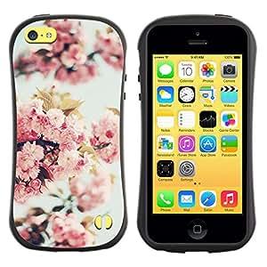 Suave TPU GEL Carcasa Funda Silicona Blando Estuche Caso de protección (para) Apple Iphone 5C / CECELL Phone case / / Apple Blossom Tree Spring Nature Bloom /