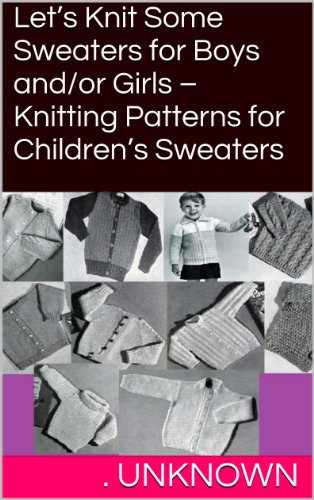 Lets Knit Some Sweaters Girls ebook