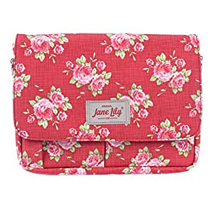 Jane Lily Small Tablet Bag, Red