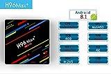 EstgoSZ Android 8.1 TV Box Newest H96 Max+ 4G 64GB