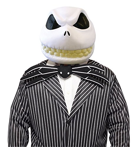 Nightmare Before Christmas Costume - Jack Skellington Mask - Teen/Adult Size