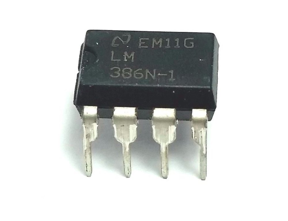 AUDIO AMPLIFIER, CLASS AB, DIP-8 LM386N-1/NOPB By TEXAS INSTRUMENTS LM386N-1/NOPB-TEXAS INSTRUMENTS