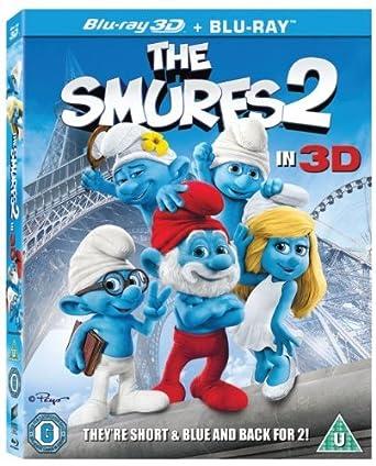 Amazon com: The Smurfs 2 [Blu-ray 3D - Blu-ray]: Hank Azaria