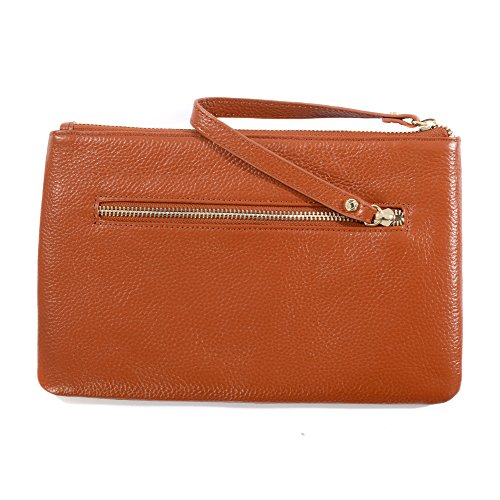 Bag Bodhi Clutch KeriKit Leather Bodhi by Tan KeriKit Ywff4ZqC