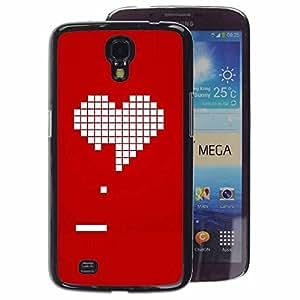 Planetar® ( Pc Game Gamer Girlfriend Love Valentines ) Samsung Galaxy Mega 6.3 / i9200 / SGH-i527 Fundas Cover Cubre Hard Case Cover