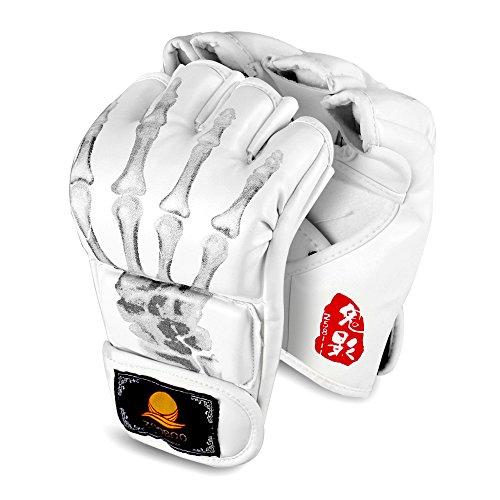 Flexzion Half Finger Boxing Gloves